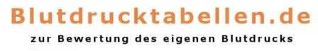 Blutdrucktabellen.de LOGO